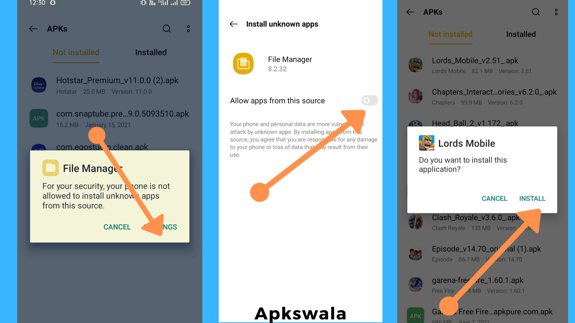 How To Install Lords Mobile Mod Apk